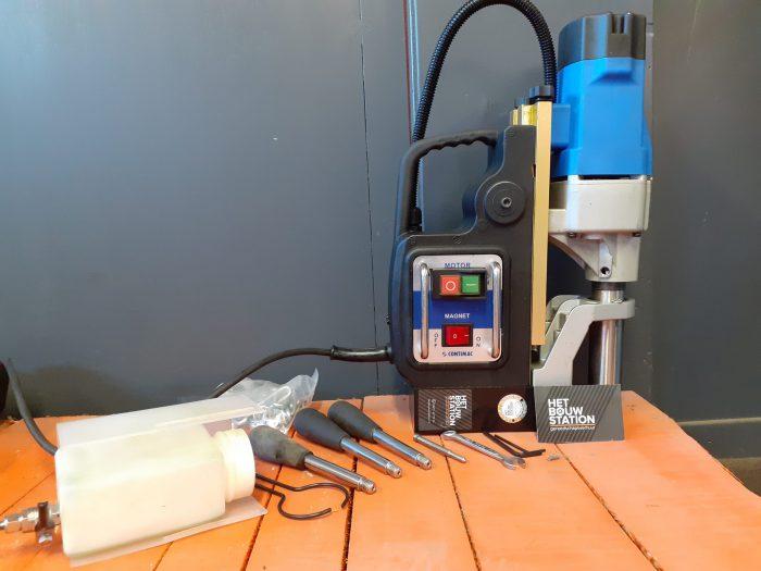 Magneet boormachine